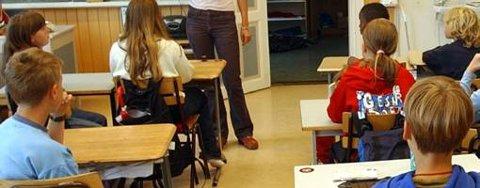 Få elever i grunnskolen har nynorsk som hovedmål.