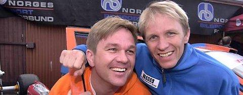 """Petter (til høyre) og Henning Solberg har masse """"trøkk"""" i vente under VM-runden i Argentina."""