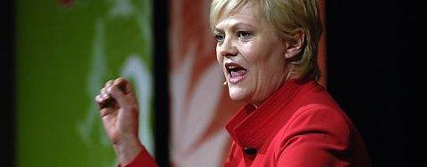 Finansminister og SV-leder Kristin Halvorsen taler til Naturvernforbundets landsmøte på Ål fredag, men har ingen konkrete klimatiltak å slå i bordet med.