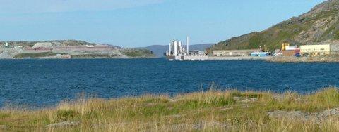 Slik ville Hammerfest Energi plassere gasskraftverket, på tomt på Rossmolla.