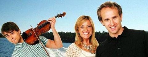 Alexander Rybak, Hanne Krogh og Thomas Stanghelle gjorde stor suksess på sin sommerturné. Foto: www.thomasstanghelle.com