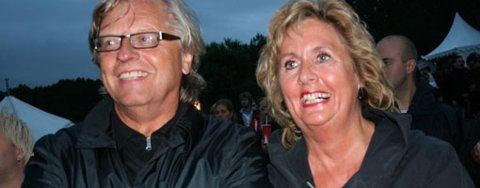 Ekteparet Odd og Trude Drevland stilte på Lost Weekend for å se Trudes nevø, Sivert Høyem.