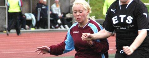 Malene Larsen Gaino spilte godt mot Sortland, men kunne ikke forhindre tap.