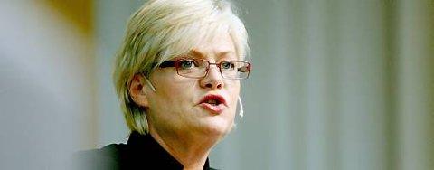 SV-leder og finansminister Kristin Halvorsen får lite gehør hos miljøvernerne.
