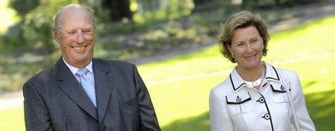 Både kongen og dronningen Sonja fylte 70 år i 2007.