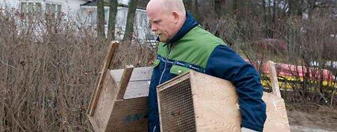 Kattefanger Ivar Grimseth måtte dra tomhendt hjem til Anticimex. Kattene var plutselig ikke lenger til stede der de har oppholdt seg de siste to årene.