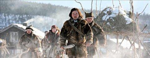 Mikkel Gaup leder an opprøret i det som er Norges største filmsatsing med premiere i 2008. Foto: Sandrew Metronome Norge