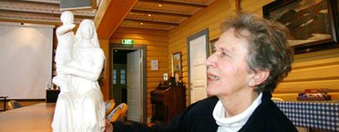 Sigrid Kvisle og styret for Trillemarka lanserte planene om en Madonna-statue i Trillemarka for over et år siden. Nå skal formannskapet ta stilling til om de ønsker statuen.