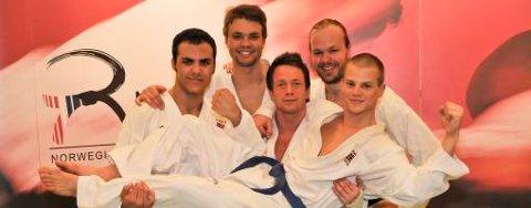 EM-laget i karate satser på medaljer.