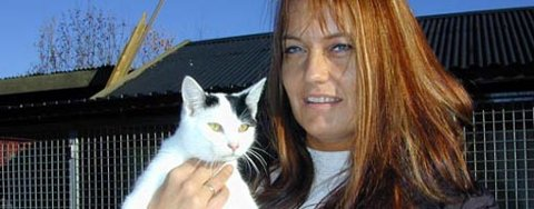 Lederen av Dyrebeskyttelsen i Ringerike og omegn, Heidi Halvorsen