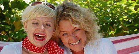 Hilde Louise Asbjørnsen trives på små steder,  og Elisabeth Holms elleVilla er midt i blinken for henne. (Foto: Inger Lene O. Steen)