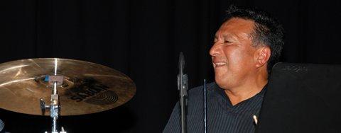 Alex Acuna under jazzcampen