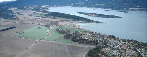 REDD FOR FRIOMRÅDER: Store deler av Steinsfjorden er foreslått vernet i ny verneplan. Åsa Vel er opptatt av å sikre tilgang til friområder og eiendommer ved fjorden.