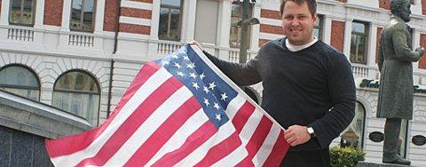 Lokalpolitiker Eirik Løkke (H) reiser til USA for å lære valgkamp. ¿Norsk politikk er så amatørmessig at det halve kunne være nok, sier Løkke.