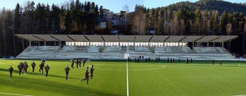 Tinfos Arena blir til Idrettsparken.
