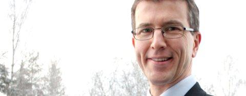 DRAMATISK: Kommunikasjonsdirektør Arve Paulsen i  Lindorff as.