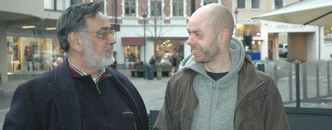 BOKAKTUELLE: Lidio Dominguez og Ole Jakob Løland er venner og politikerkolleger. Nå har Løland skrevet bok om Dominguez' liv.