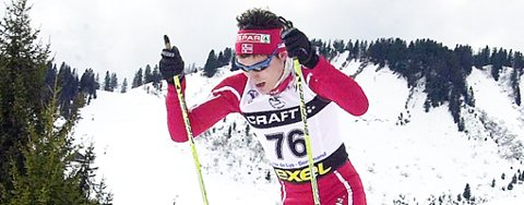 Finn Hågen Krogh gikk 3. etappe for Norge og var med på å sikre bronsen under junior-VM i Frankrike.