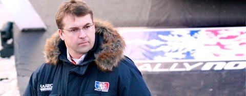 Daglig leder Even Wiger i Rally Norway.