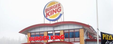 Burger King på Svinesund.