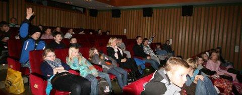 Publikum stilte mange spørsmål
