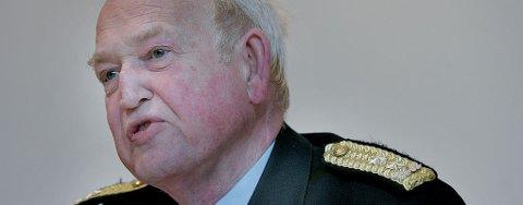 FÅR PEPPER: Truls Fyhn, politimester i Troms, får hard kritikk for sine uttalelser etter trippeldrapet i Tromsdalen.