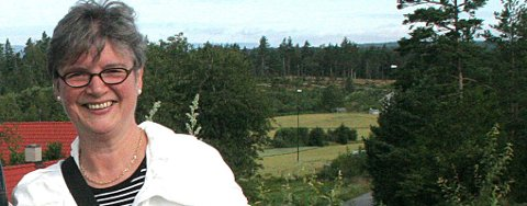 Sylvi Ofstad Samstag er leder i Frognmarkas venner.