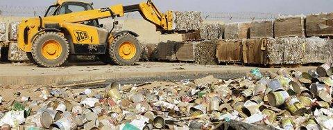 Søppeleksport til Sverige truer fjernvarmesatsingen.