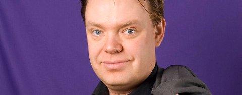 Partileder Rick Falkvinge i det Det svenske Piratpartiet (PP).