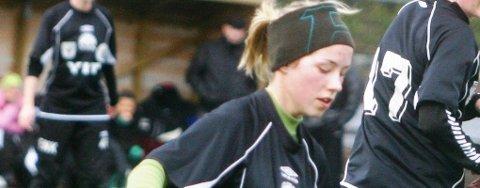 SNIPP, SNAPP SNUTE: NBK/Kvernbit, her representert ved Henriette Spurkeland, er ute av årets Norway-cup.