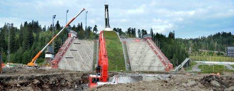 OVERSKRIDELSER: Holmenkoll-anlegget blir 600 millioner kroner dyrere enn antatt.