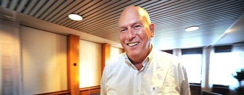 LO-leder Roar Flåthen er godt fornøyd med at det blir rødgrønn regjering i fire nye år.