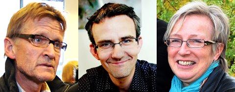 TIL OPERAEN: Mads Gilbert, Endre Lund Eriksen og Laila Lanes.