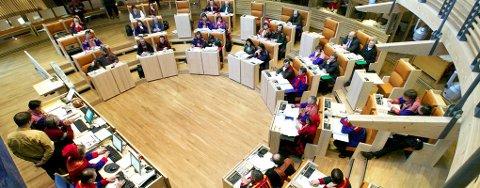 ENDRINGER: Høyres Knut Roger Hanssen får likevel en plass på Sametinget.