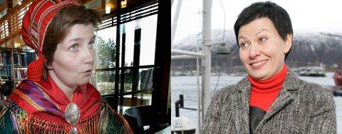 STRID: Aili Keskitalo og Helga Pedersen.