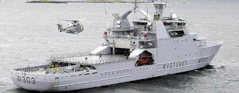 Kystvakten anmeldte onsdag to båter for ulovlig krabbefiske utenfor Vardø.