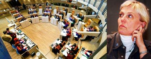 PROVOSERT: Fylkesrådsleder Pia Svensgaard liker dårlig at Sametinget gir Riddu Riddu mindre penger enn før når myndigheten satser mer.