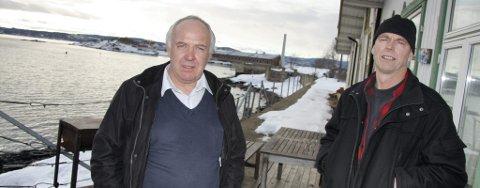 Pål Moe og Knud Boye i Nesodden kystlag mener Fyrsteilene og Persteilene bør bli Fyrsteila og Persteila.