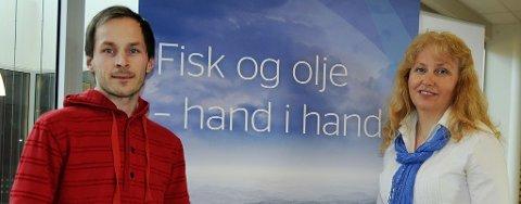 Licence controller Harald Bjørnsen og utviklingsdirektør Astrid Tugwell i North Energy mener effekten av tiltakssonen er god.