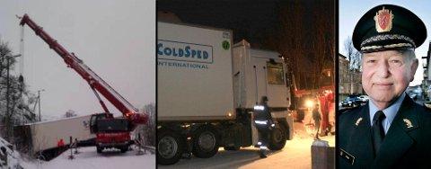 """DEKK-SJEKK: De siste dagene har politiet hatt hendene fulle med utenlandske trailere """"på avveie"""". Politimester Truls Fyhn mener en dekk-sjekk på grensa er den eneste måten å få bukt med problemet på."""
