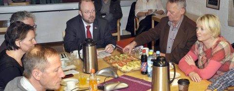 Formannskapet var i kveld samlet til et ekstraordinært møte. Der ble rådmann Sigmund Johnsen innvilget permisjon. Foto: Arne Forbord