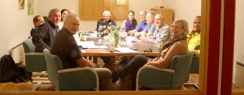 Senterpartiet har utvidet styremøte mandag kveld.