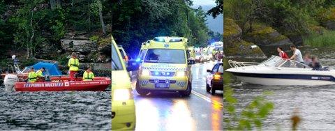 Både mannskaper fra Røde Kors, ambulansepersonell og frivililge hadde hendene fulle under og etter Utøya-tragedien.