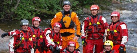 Vannredningsgruppen til Ringerike Røde Kors Hjelpekorps kan glede seg over at den nye fullt utstyrte redningsbåten