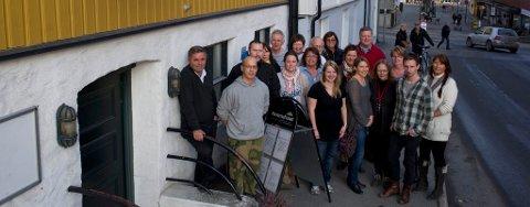 Fontenehuset: Kuttforslagene i kommunens budsjett kan gå ut over tilbudet ved Fontenehuset. Styreleder Haakon Tronrud til venstre i bilde.