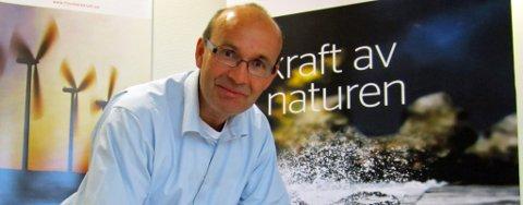 Administrerende direktør i Finnmark Kraft AS, John Masvik.
