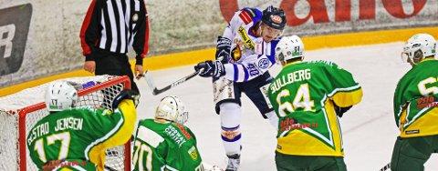 Sparta vant til slutt med sifrene 2-4 borte mot Manglerud Star i Oslo lørdag. (Foto: Thomas Andersen)