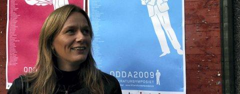Marit Eikemo er nominert til P2-lytternes romanpris for 2011 for «Samtale ventar». Selv må hun vente til februar på juryens vurderinger og dom.