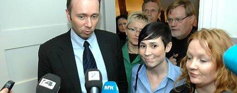 Trond Giske (Ap) etter forliket i Stortinget torsdag.