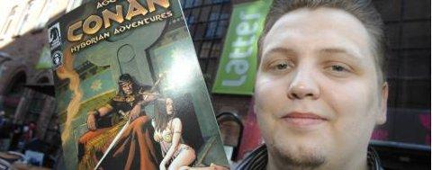 Erling Ellingsen er produktssjef for det nye norske spillet Age of Conan.